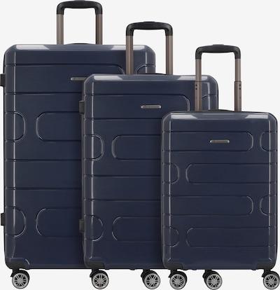 Franky Kofferset in dunkelblau, Produktansicht