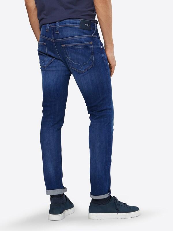 Blauw Pepe Jeans Denim In 'zinc' Okwn08P