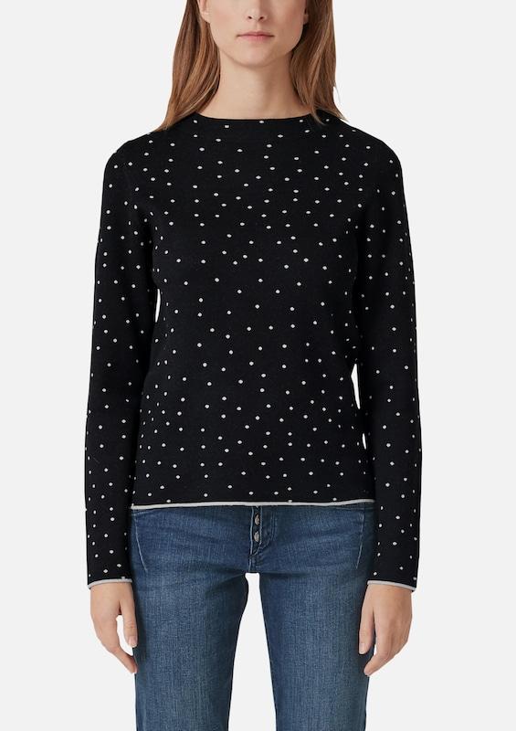 S.Oliver rot LABEL Pullover in schwarz schwarz schwarz   weiß  Große Preissenkung 048ad9