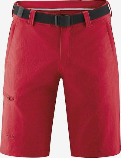 Maier Sports Funktionsshorts ' He-Bermuda El' in rot / schwarz, Produktansicht