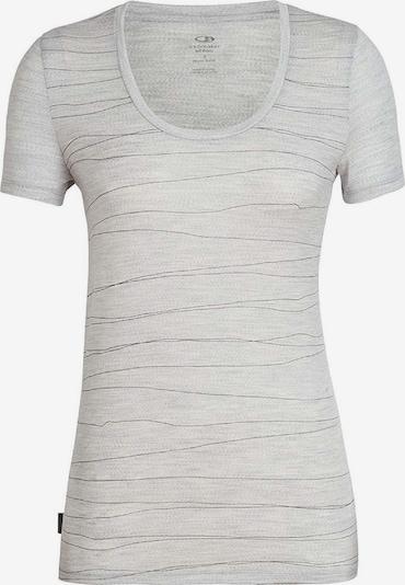Icebreaker T-shirt ' Tech Lite SS Scoop Lines Lan ' in grau, Produktansicht