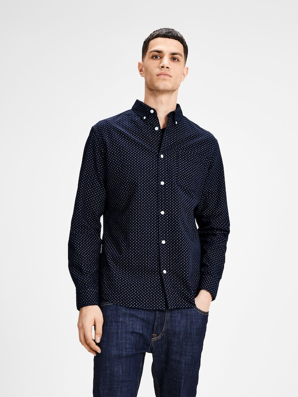JACK & JONES Hemd Oxford