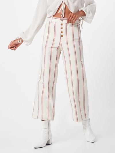GAP Hose 'SEAFARER STRIPE' in beige / rosa / hellrot / naturweiß, Modelansicht