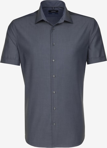 SEIDENSTICKER Hemd ' Tailored ' in Grau