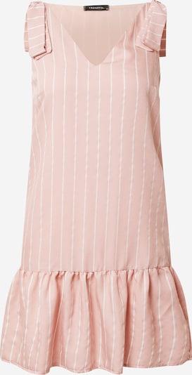 Trendyol Šaty - svetloružová / biela: Pohľad spredu