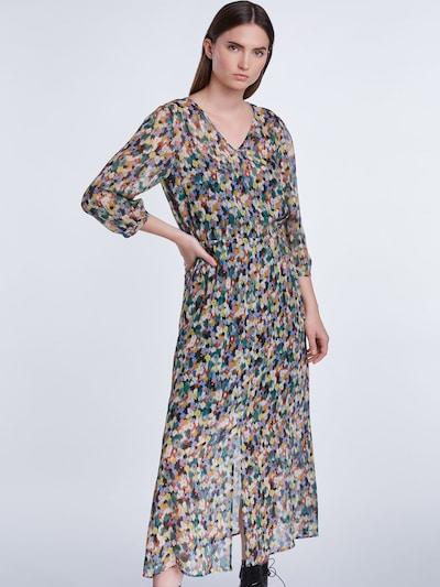SET Kleid in mischfarben: Frontalansicht