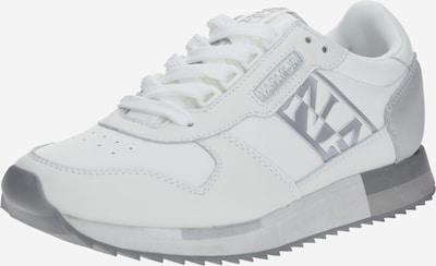 NAPAPIJRI Sneaker 'S0VICKY01/LEA' in silbergrau / weiß, Produktansicht
