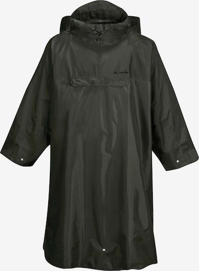 VAUDE Regenmantel Herren in oliv, Produktansicht