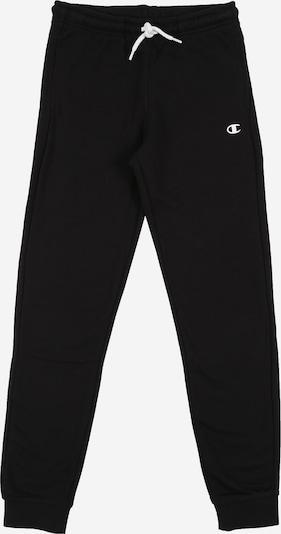 Champion Authentic Athletic Apparel Pantalon en noir / blanc, Vue avec produit