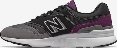new balance Sneaker '997' in grau / mauve / schwarz, Produktansicht