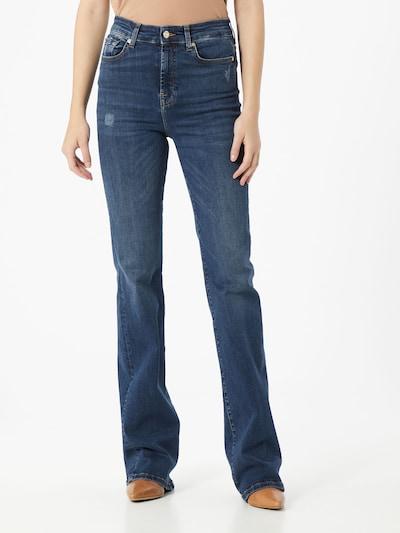 Jeans 7 for all mankind pe denim albastru: Privire frontală