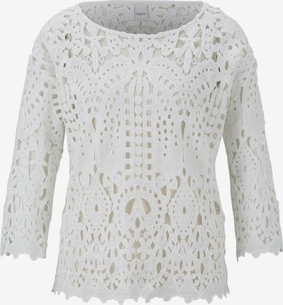 heine Shirt 'CASUAL' in beige / weiß, Produktansicht