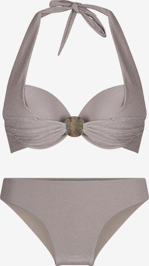 LingaDore Bikini in taupe: Frontalansicht