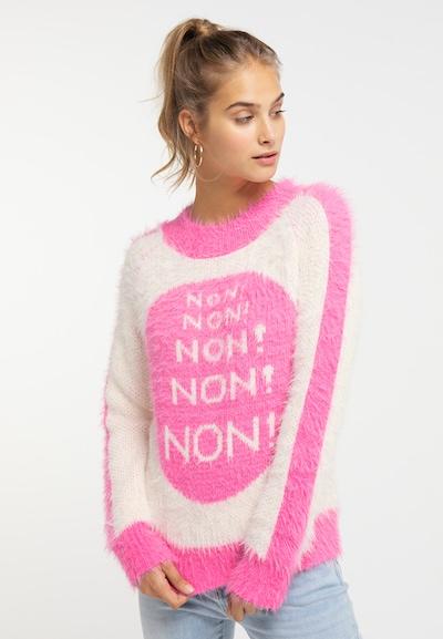 MYMO Pullover in pink, Modelansicht