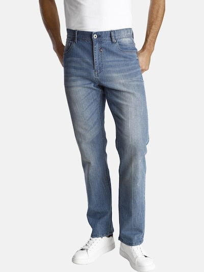 Jan Vanderstorm Jeans in blue denim, Modelansicht