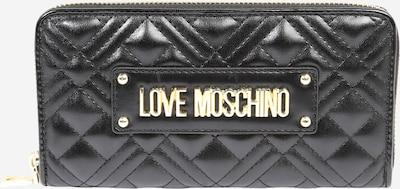 fekete Love Moschino Pénztárcák 'PORTAF.QUILTED NAPPA PU NERO', Termék nézet