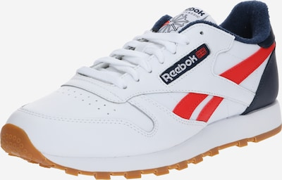 Reebok Classic Sneakers laag 'CL LEATHER MU' in de kleur Donkerblauw / Rood / Wit, Productweergave