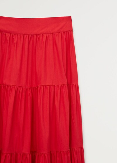 MANGO Rock 'Tafa' in rot, Produktansicht