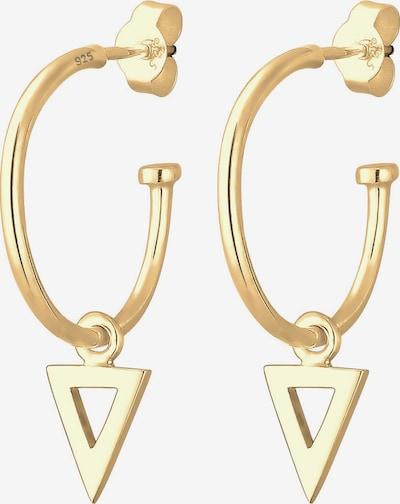 ELLI Oorbellen 'Dreieck Geo' in de kleur Goud, Productweergave