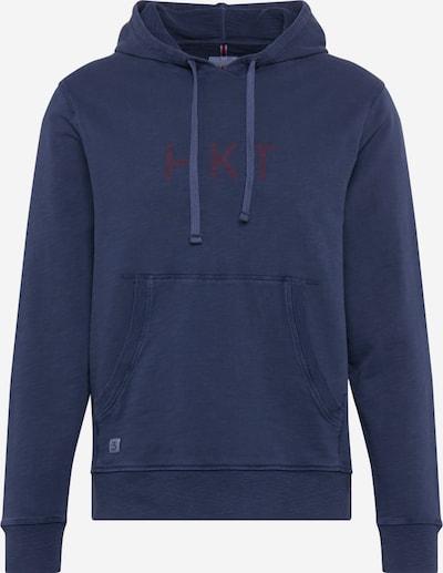 HKT by HACKETT Sweatshirt 'HKT HOODY' in de kleur Navy, Productweergave