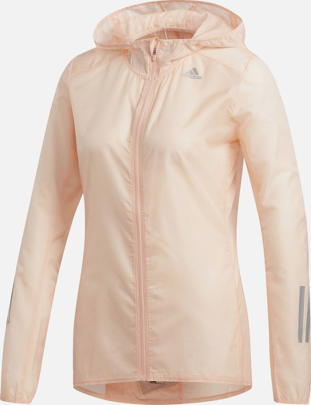 ADIDAS PERFORMANCE Jacke 'Response' in rosa, Produktansicht