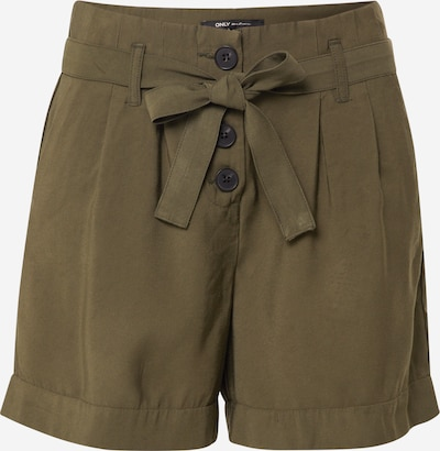 ONLY Shorts in grün: Frontalansicht