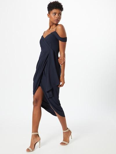 Forever New Koktejl obleka 'Hadley' | mornarska barva: Frontalni pogled