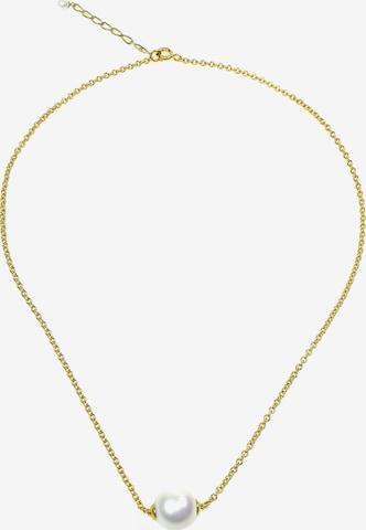 Orquidea Perlenkette 'Dionne' Golden in Weiß