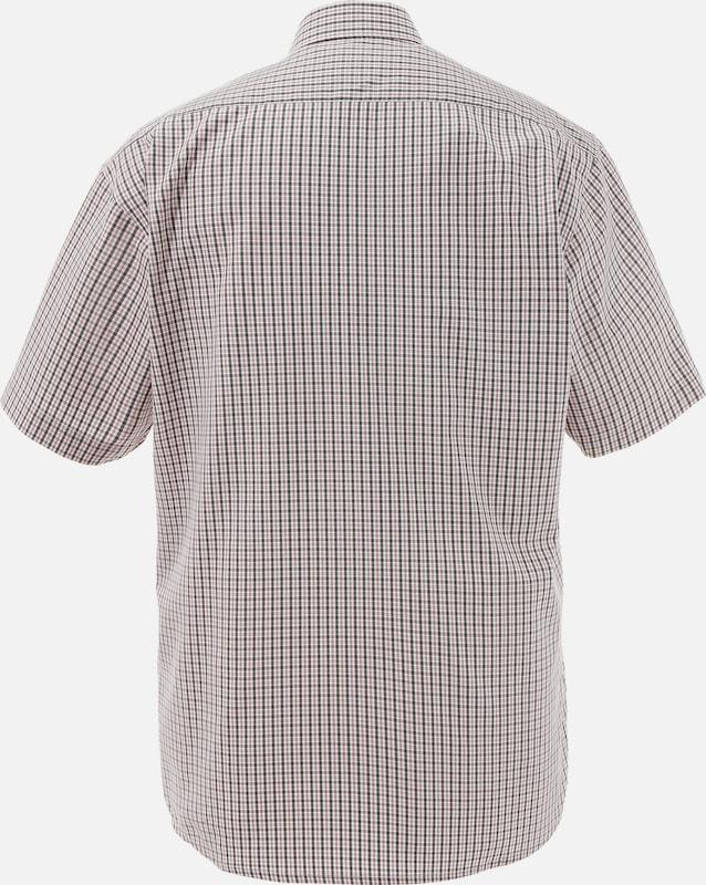 OS-TRACHTEN Trachtenhemd in frischer Farbkombination