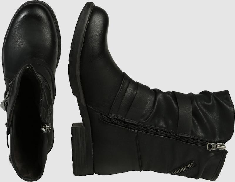 TOM TAILOR Stiefel Stiefel Stiefel in Biker-Optik 2f5270
