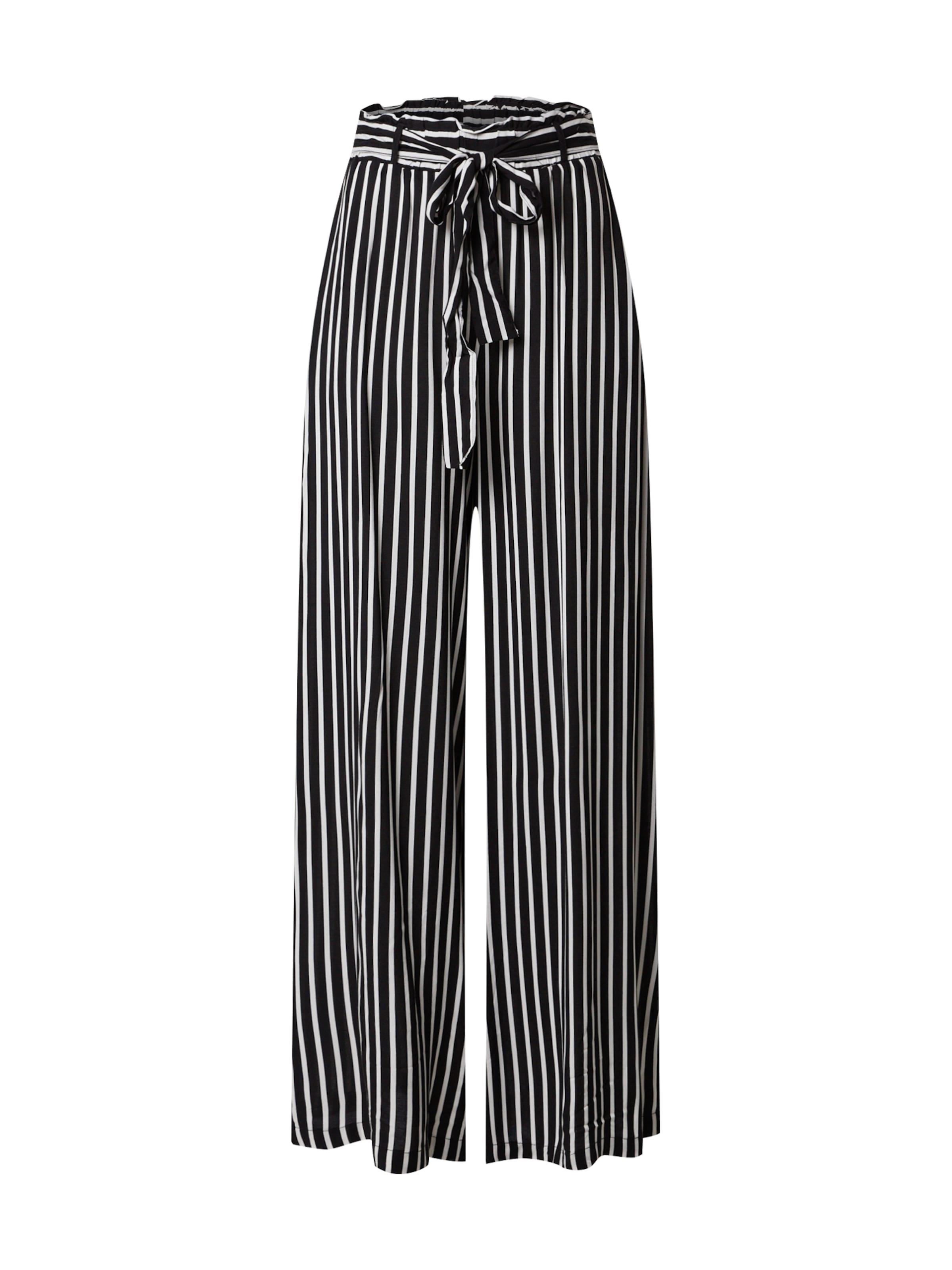 ZABAIONE Byxa 'Pants Savanna' i svart / vit