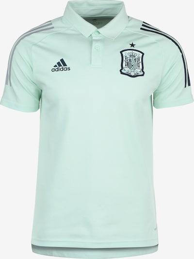 ADIDAS PERFORMANCE Poloshirt 'FEF Spanien EM 2020' in marine / mint / silber, Produktansicht
