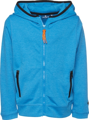 TOM TAILOR Sweatjacke 'sporty tech sweat jacket'