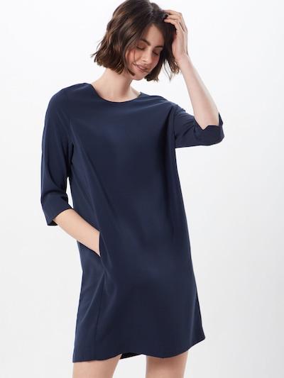 VILA Jurk 'Nathalia' in de kleur Donkerblauw: Vooraanzicht