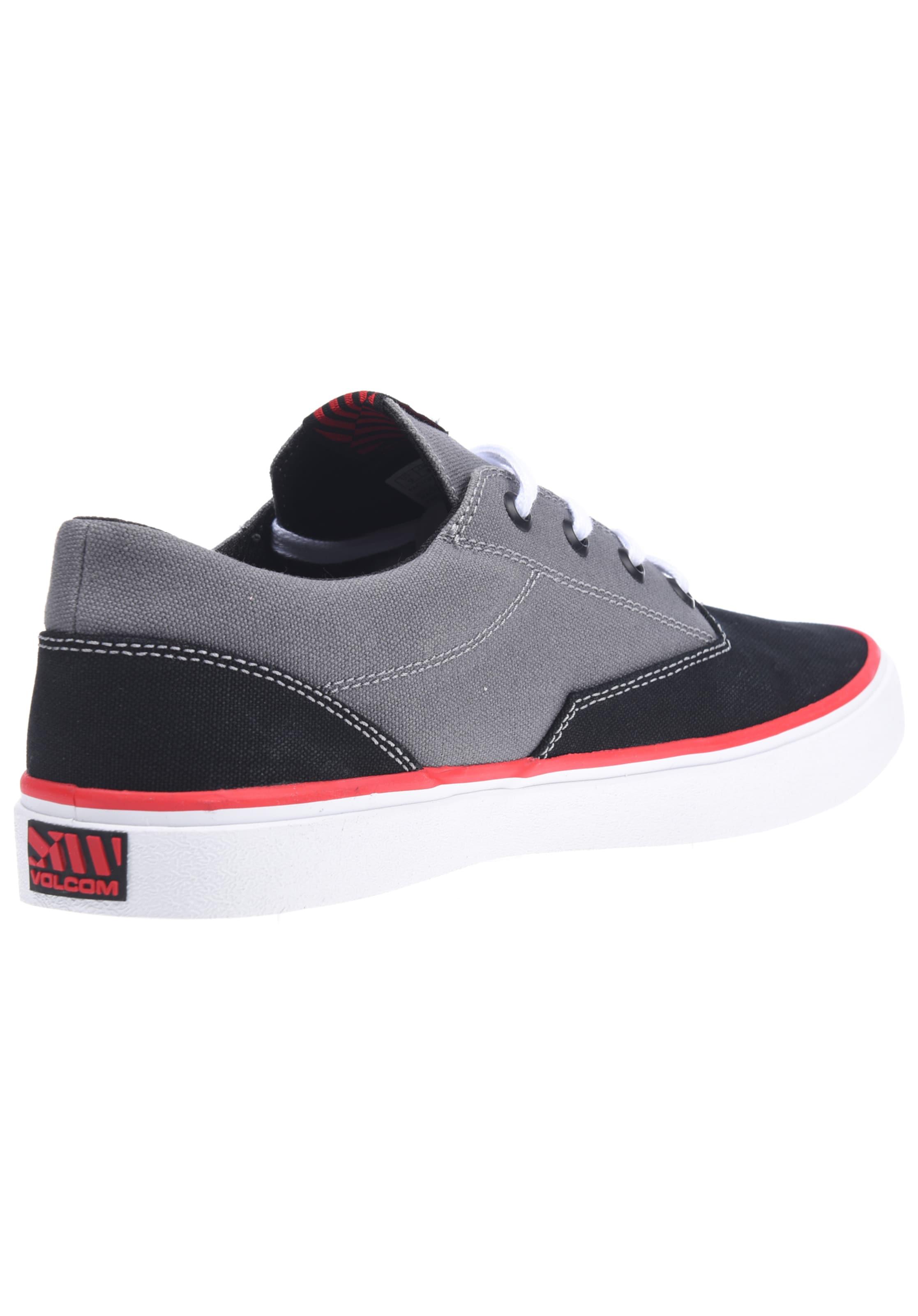 Volcom Draw Sneaker In Lo Schwarz thdQrCs