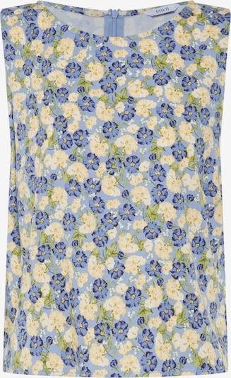 Envii Haut 'CHARITON' en bleu clair / jaune pastel / vert, Vue avec produit
