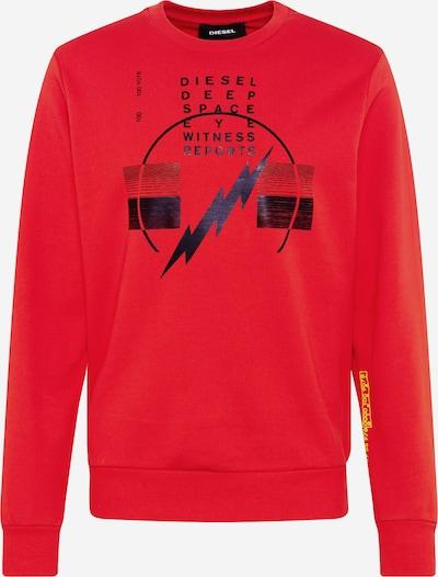 DIESEL Majica 'GIRK' | rdeča barva, Prikaz izdelka