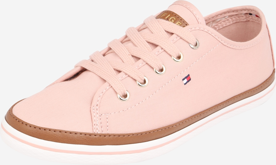 TOMMY HILFIGER Sneakers laag 'ICONIC KESHA' in de kleur Bruin / Oudroze, Productweergave