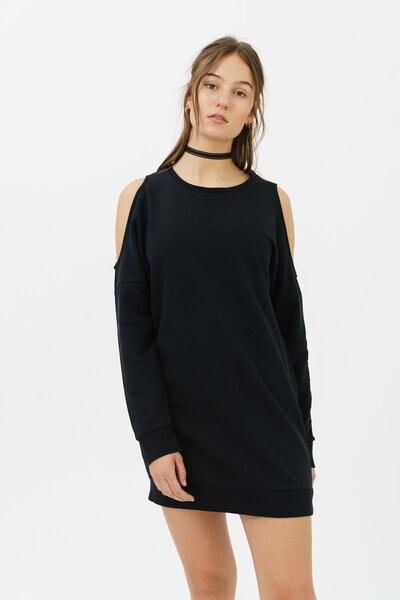 trueprodigy Sweatkleid 'Sarah' in schwarz, Modelansicht