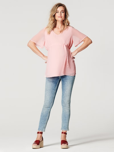Noppies T-shirt 'Candice' in rosa: Frontalansicht