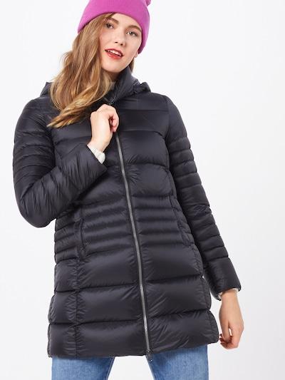 Colmar Manteau d'hiver en noir, Vue avec modèle