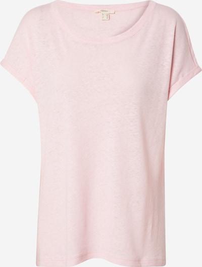 ESPRIT Shirt in pastellpink, Produktansicht