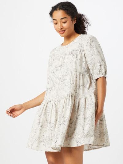 Envii Kleid 'Salvation' in anthrazit / weiß, Modelansicht
