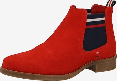 s.Oliver Stiefelette in rot / schwarz, Produktansicht