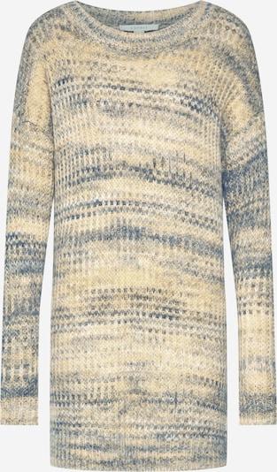 ESPRIT Pullover 'sweater long' in gelb / grün, Produktansicht