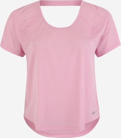 NIKE Functioneel shirt 'MILER' in de kleur Rosa / Zilver, Productweergave