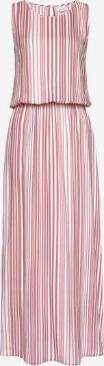 LASCANA Maxikleid in pink / weiß, Produktansicht