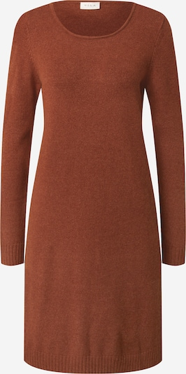 VILA Robes en maille en marron, Vue avec produit