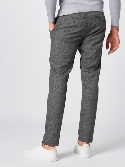 Only & Sons Pantalon à pince en gris: Vue de dos