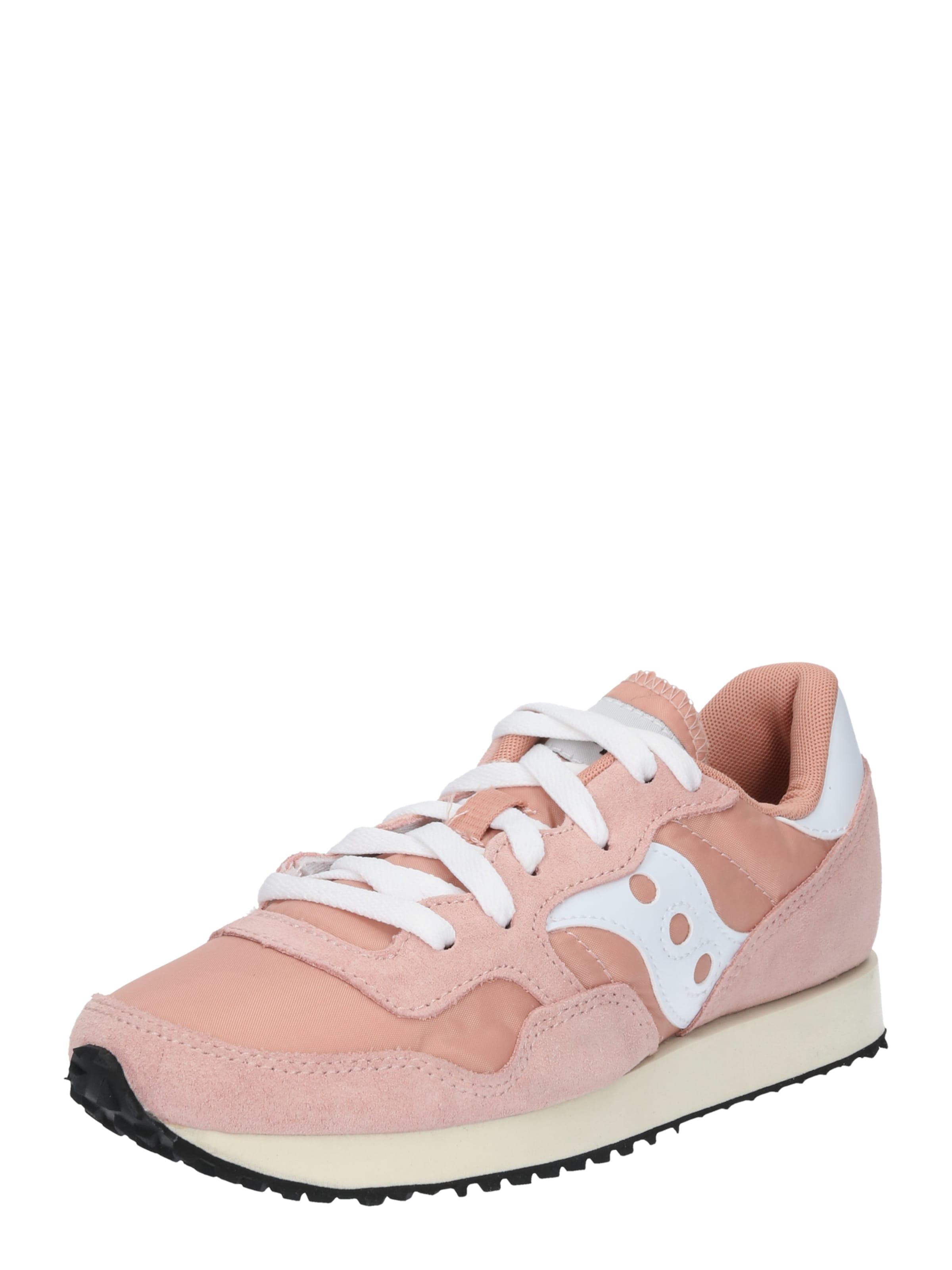 Weiß PinkBurgunder Schuhe 'dxn Vintage' Saucony In cL5jqA34R